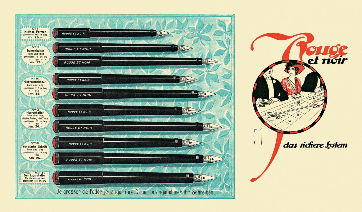 Poster from the Montblanc archive