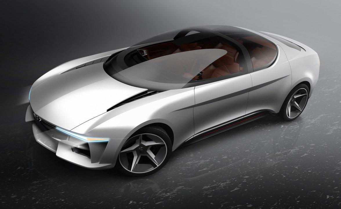 Sibylla concept car, designed by GFG Style studio, for Envision