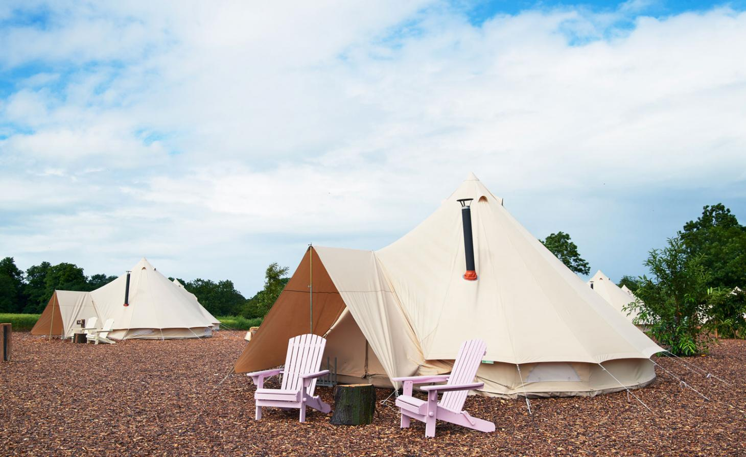 Soho Farmhouse, Yurts