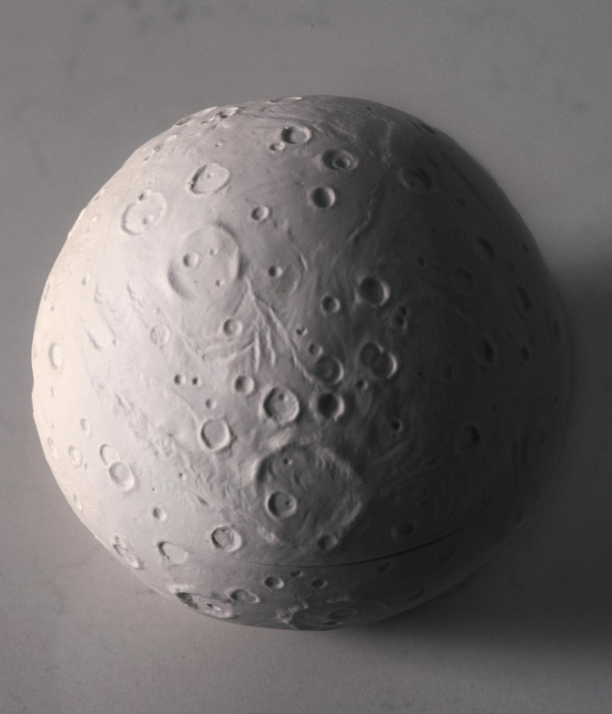 The Exoplanet candle by Daniel Arsham and Joya