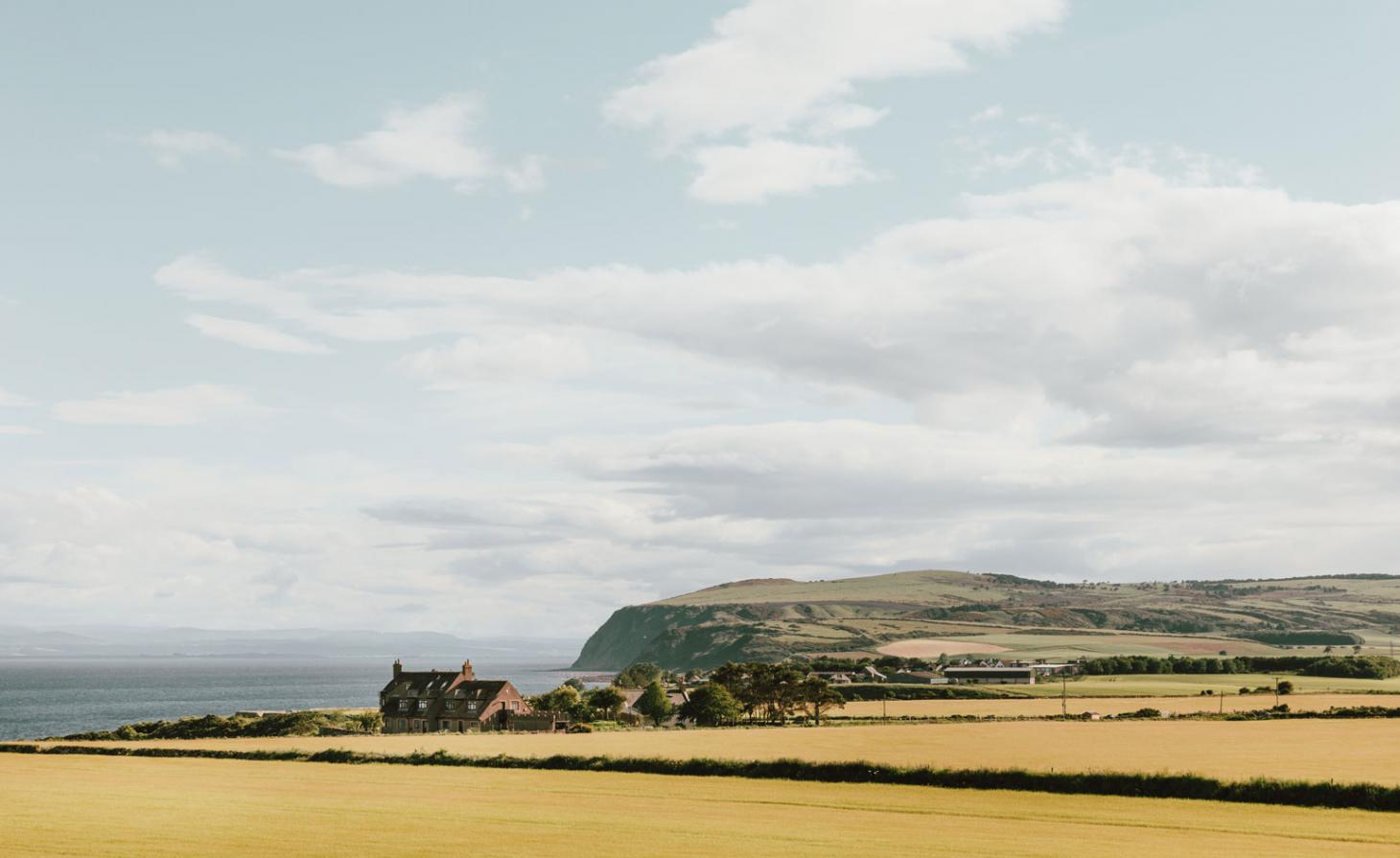 Stunning view of the Scottish Highlands, and Glenmorangie House in 2019