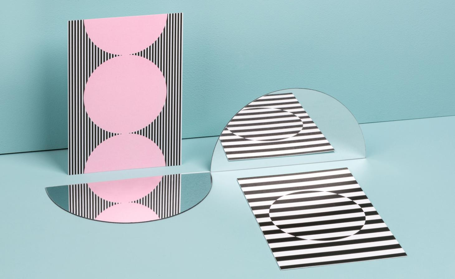 Patternity and Moo Postcards for mindfulness