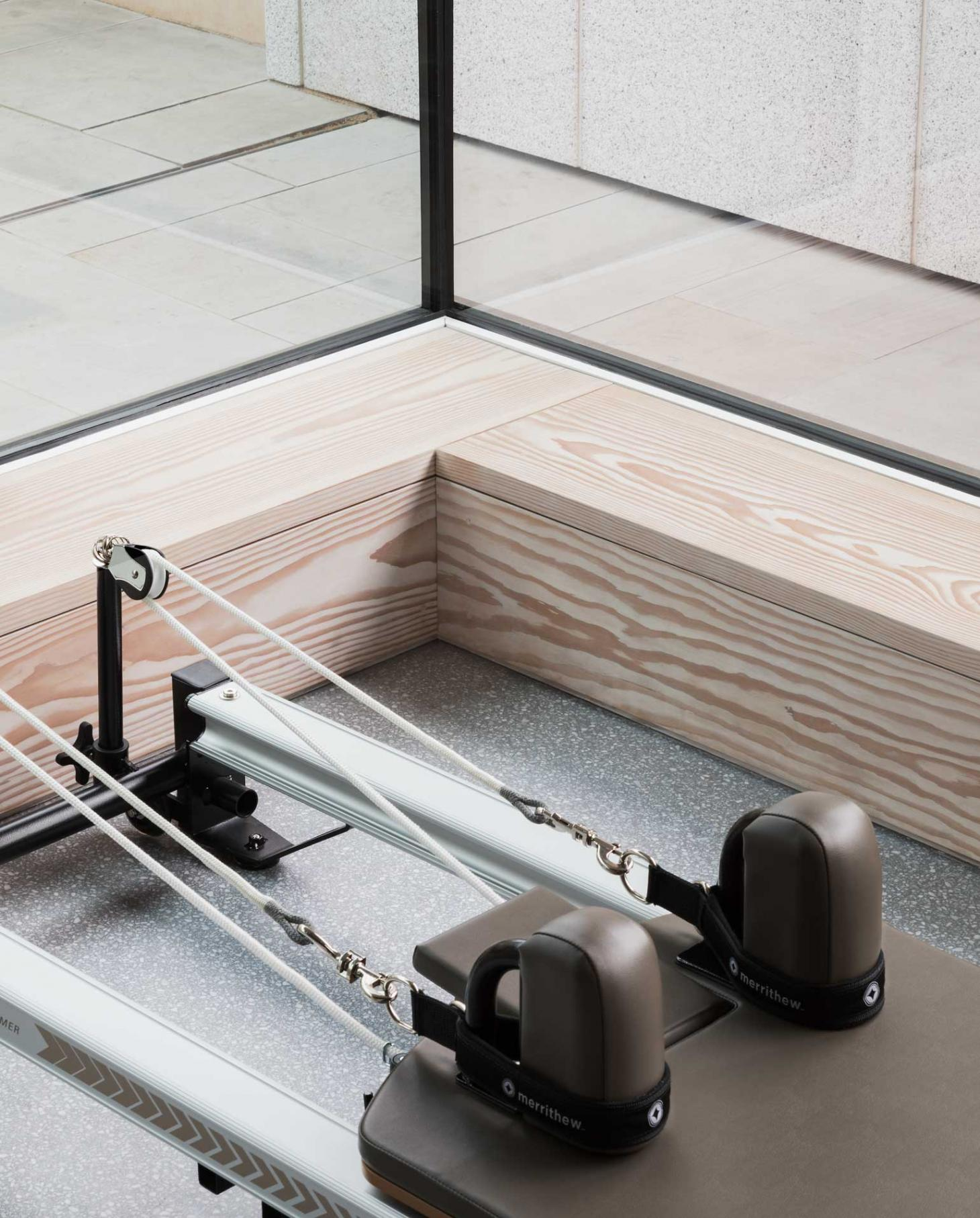 Pilates studio equipment at Core Kensington