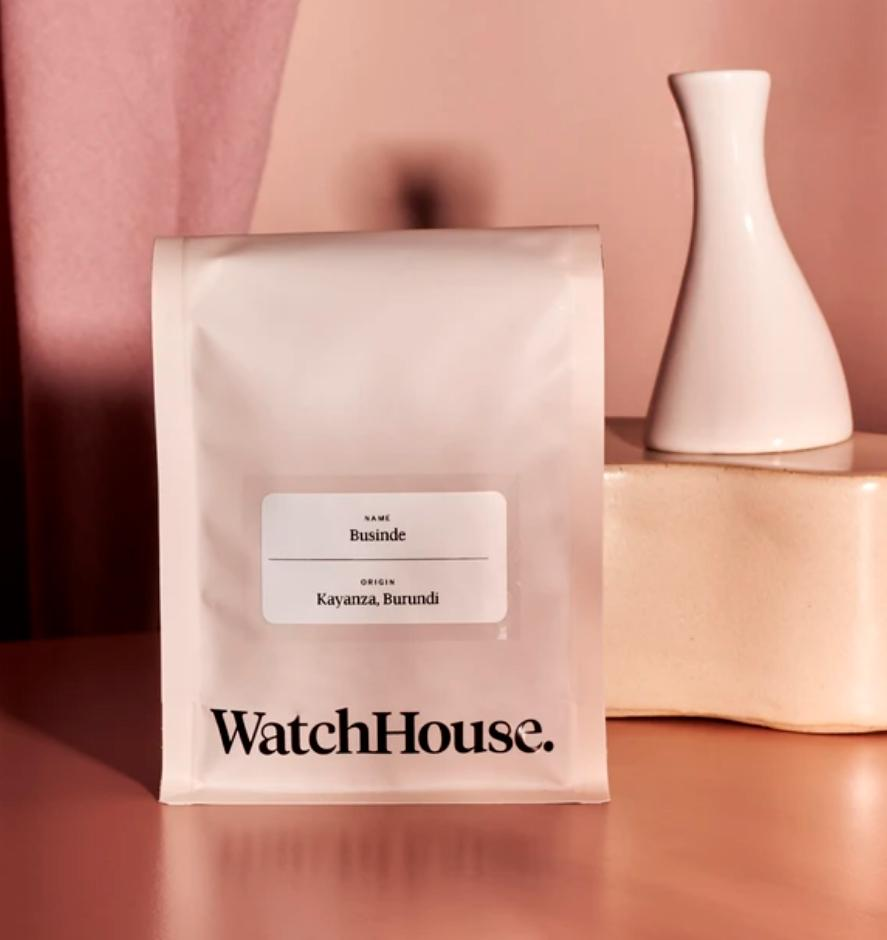 Coffee product from Watch House Roastery in London