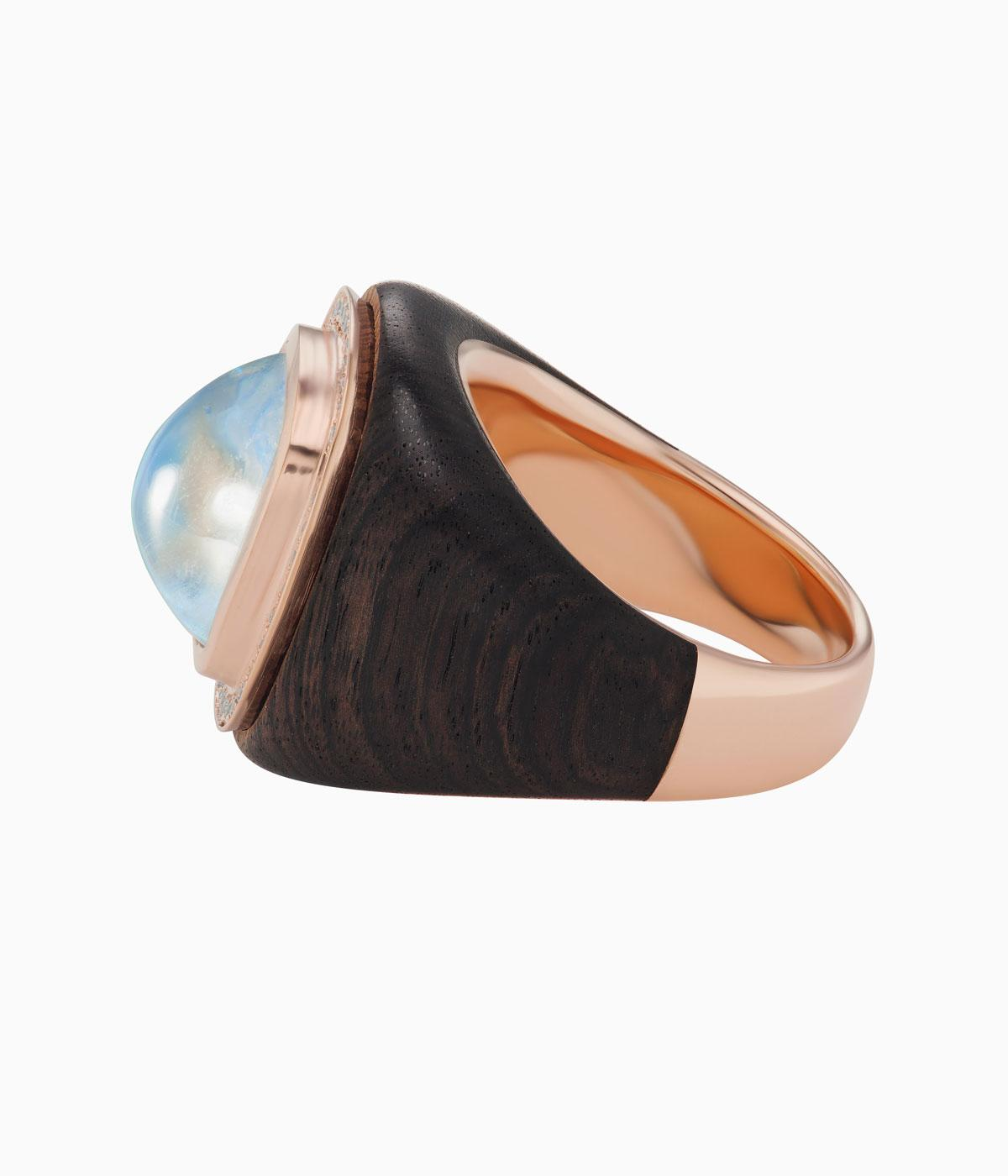 Emily P Wheeler jewellery made from wood