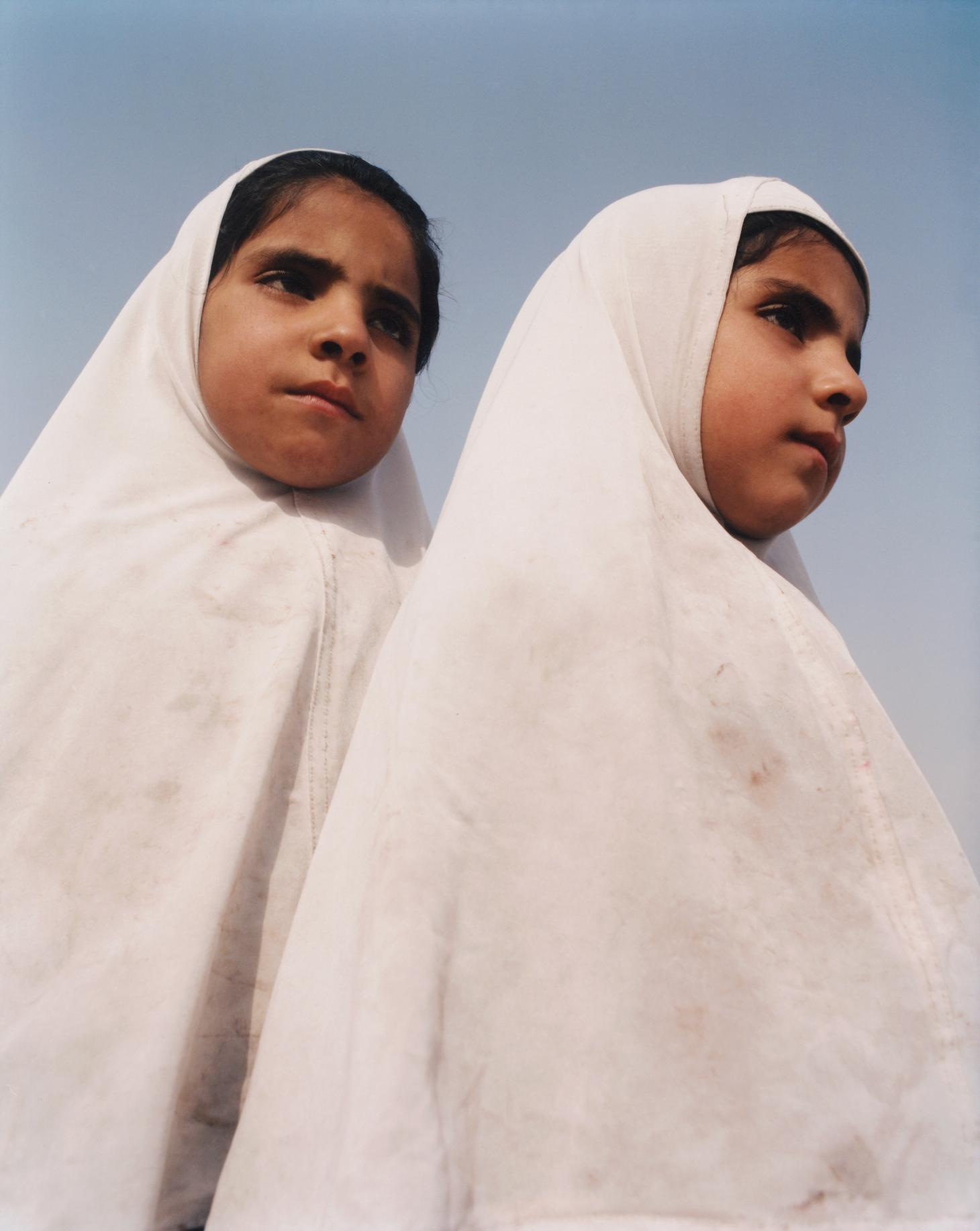 Afghan Twin Sisters, by Juliette Cassidy