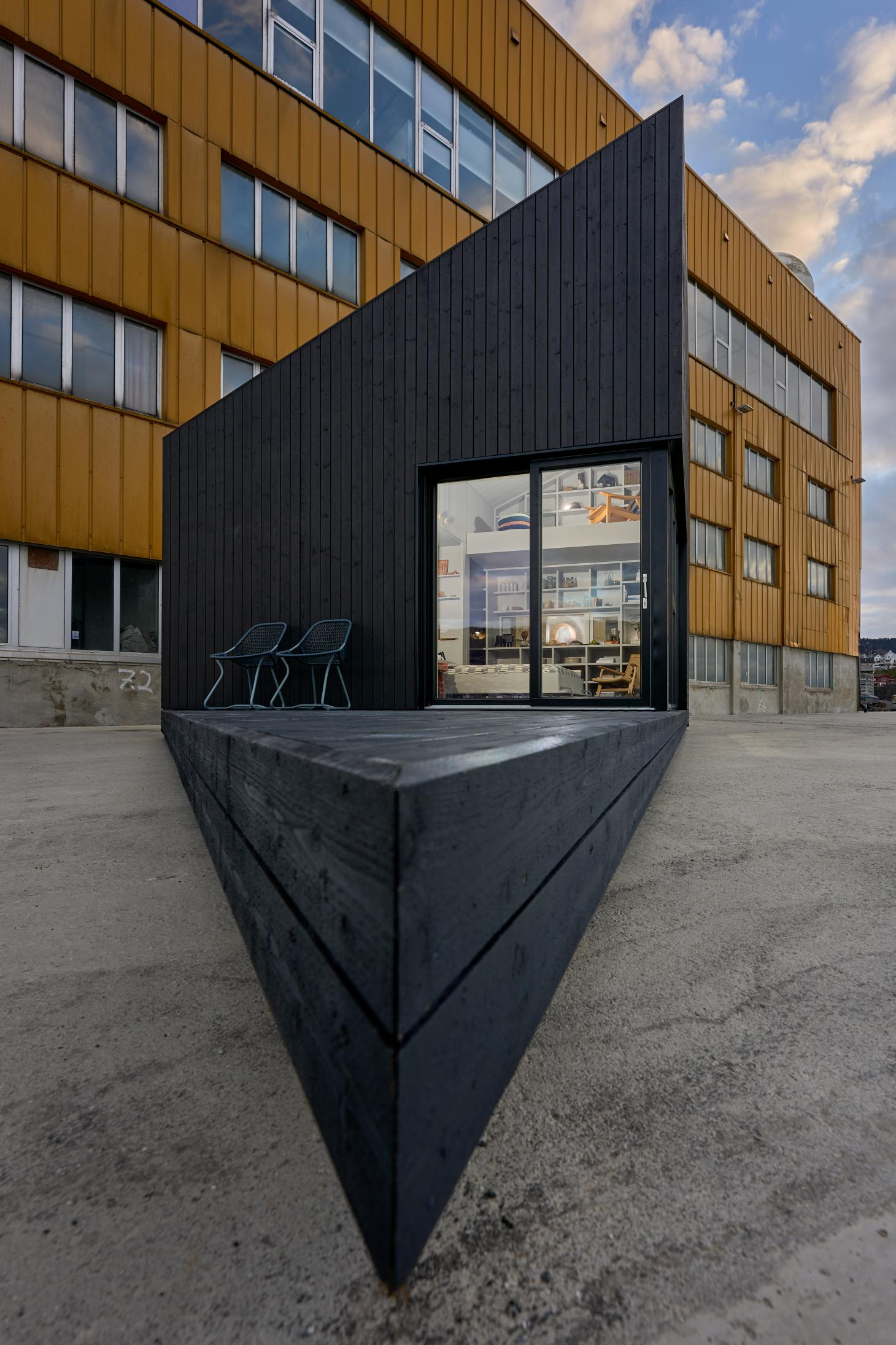 The XS Minihus by Saunders Architecture, a 24m2 micro cabin designed for any site