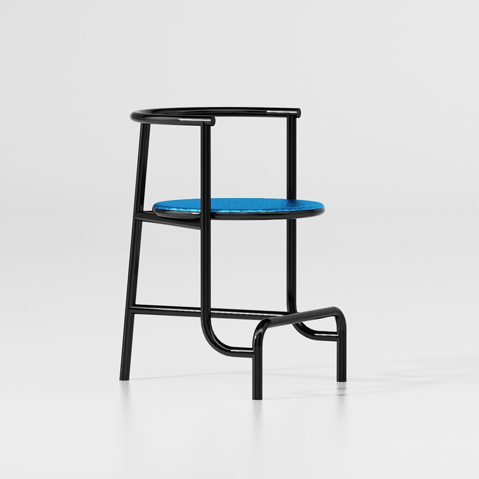 Tubo chair by Fabien Cappello