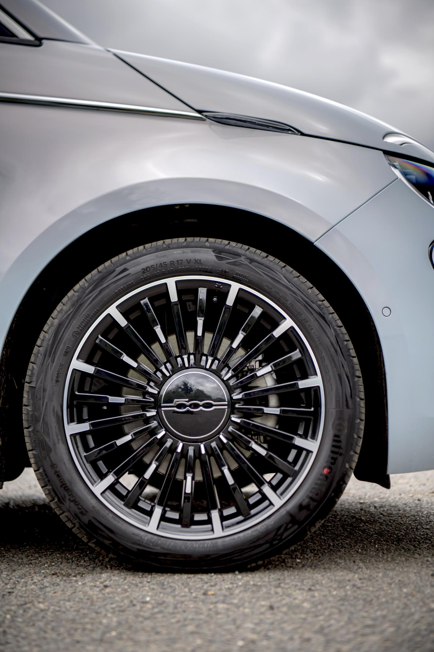 Design details of the Fiat New 500