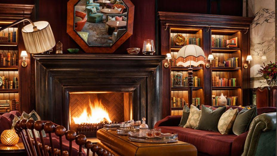 Scarfes Bar London restaurant at the Rosewood Hotel