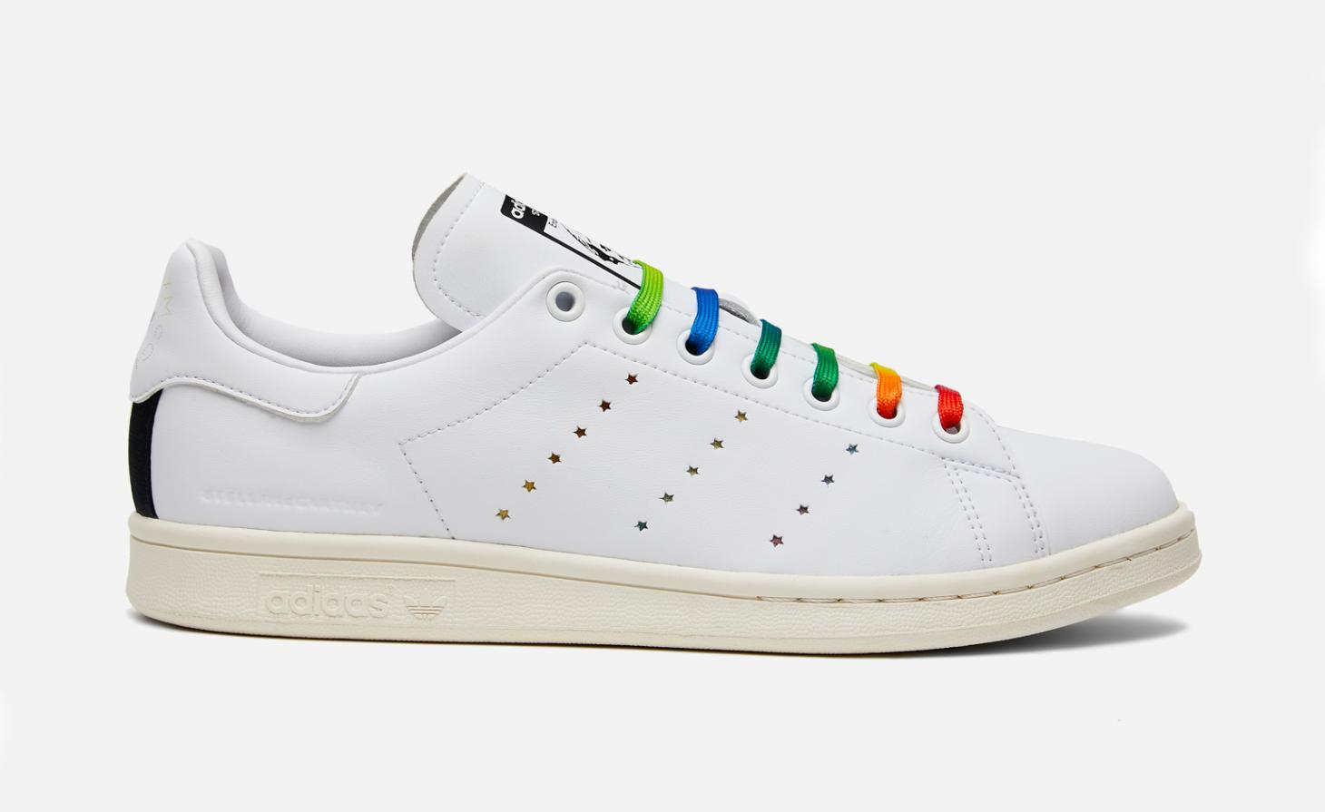 Stella McCartney Adidas Stan Smith Rainbow sneaker