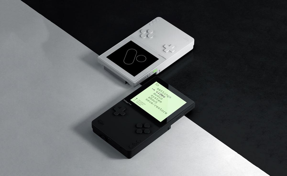 Gameboys in grey and black