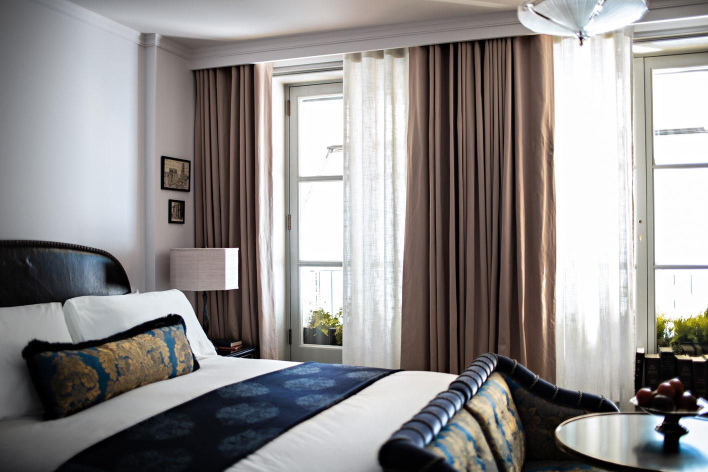 NoMad hotel London guestroom