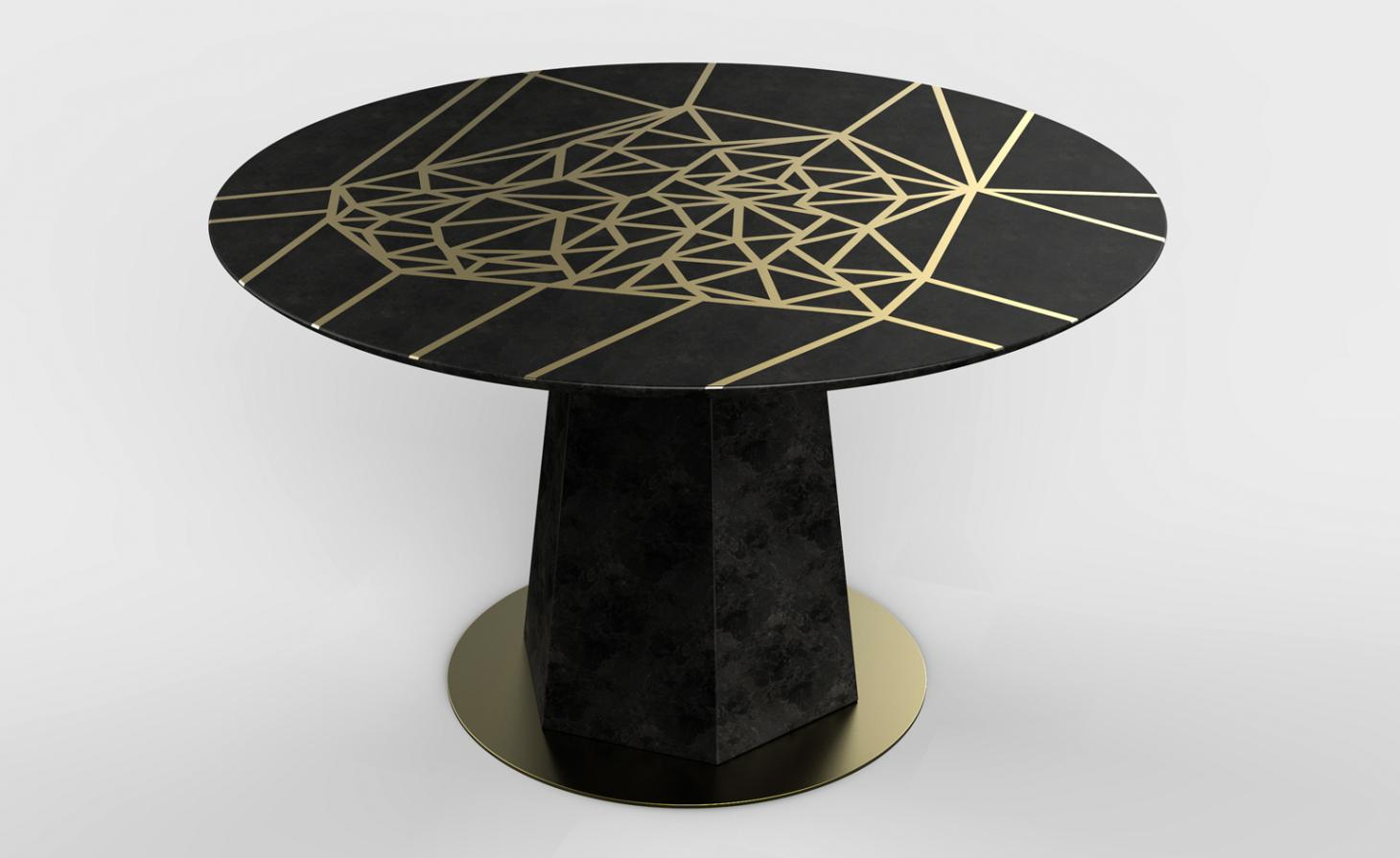 Fractal furniture: Holly Hunt collaborates with artist Paula Crown