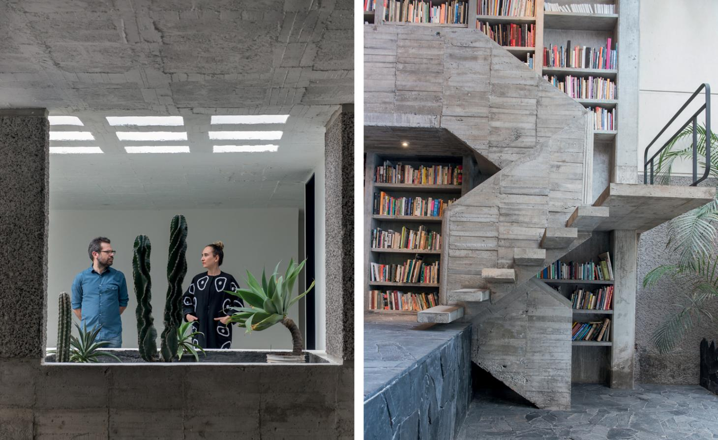 Brutal beauty: Mexico's leading creative couple cement their passion for concrete