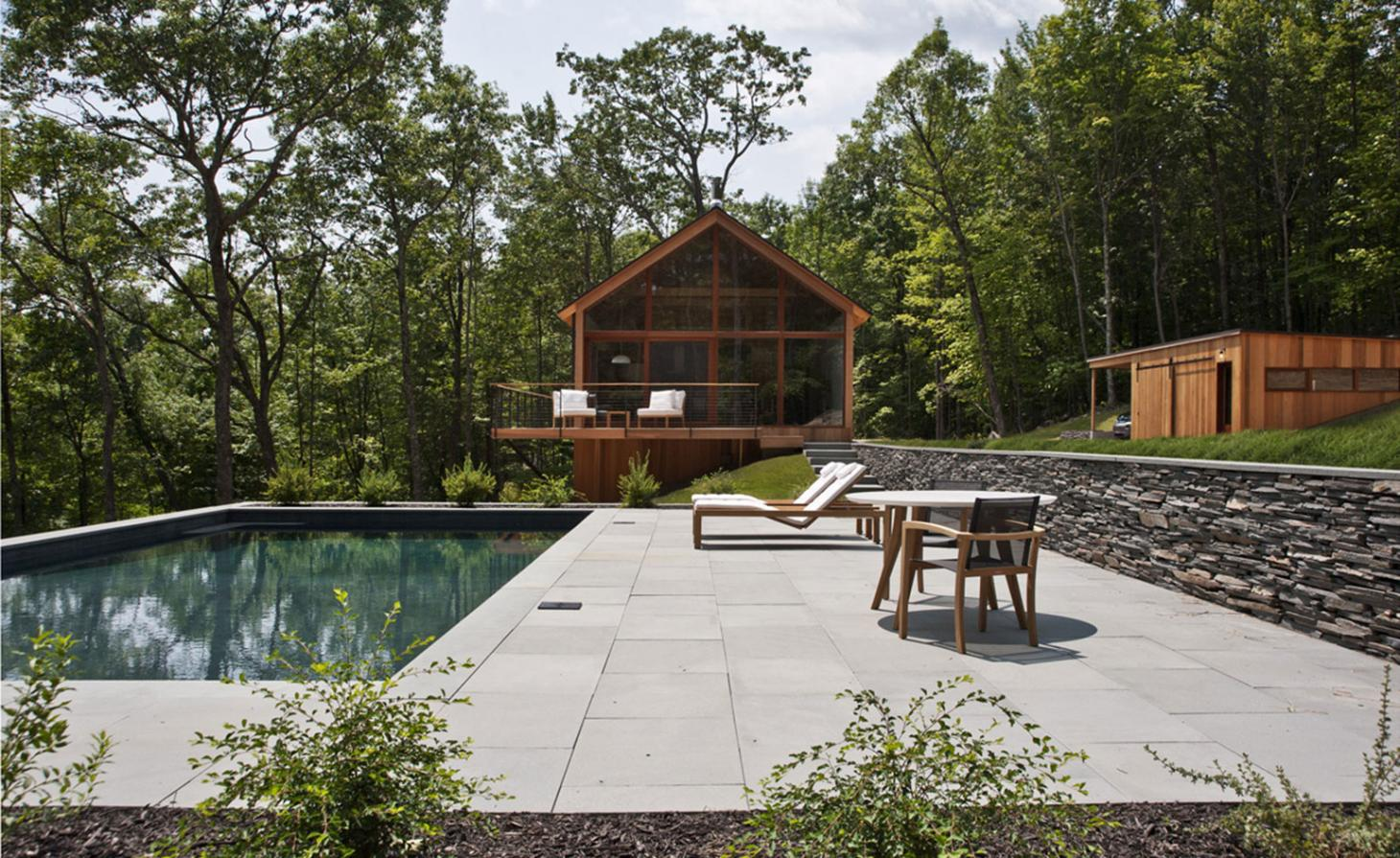 Into the woods: a private tour of Upstate New York's latest architectural retreat