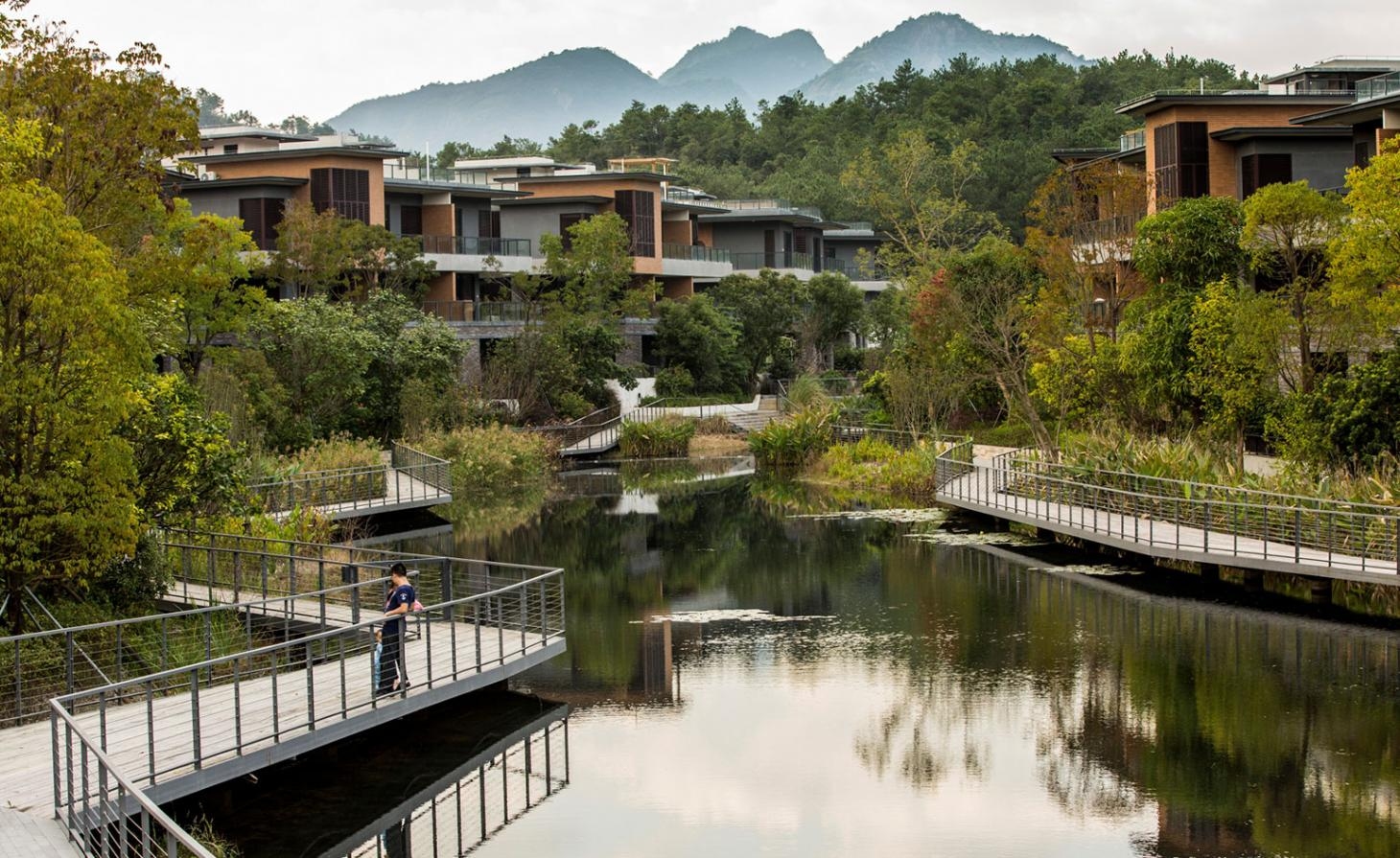 Watershed moment: a landscaping project in Fuzhou responds to the site's topography