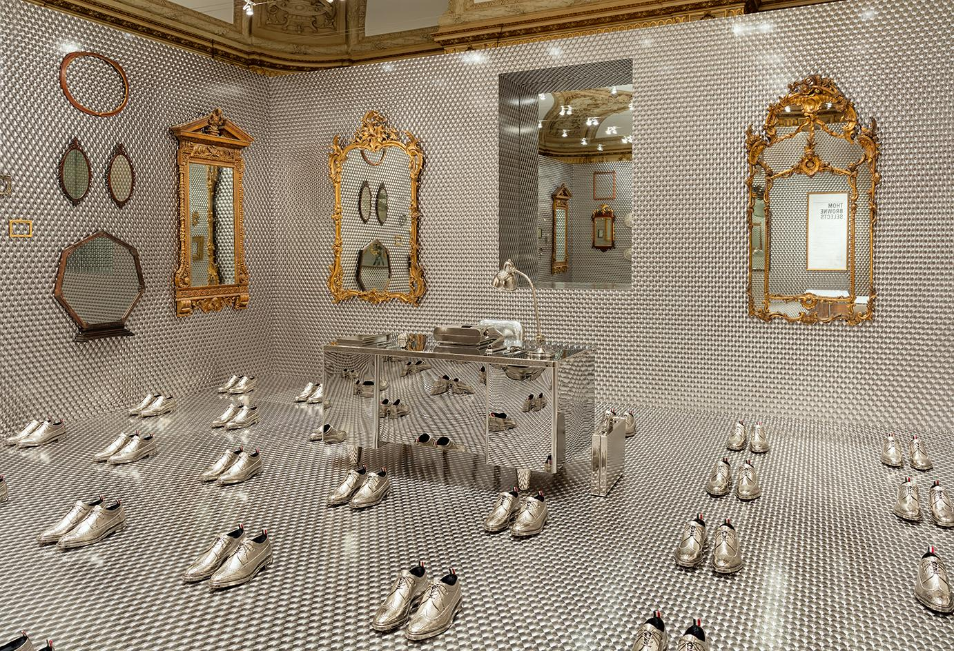 Hall of mirrors: Thom Browne curates a reflective world for the Cooper Hewitt