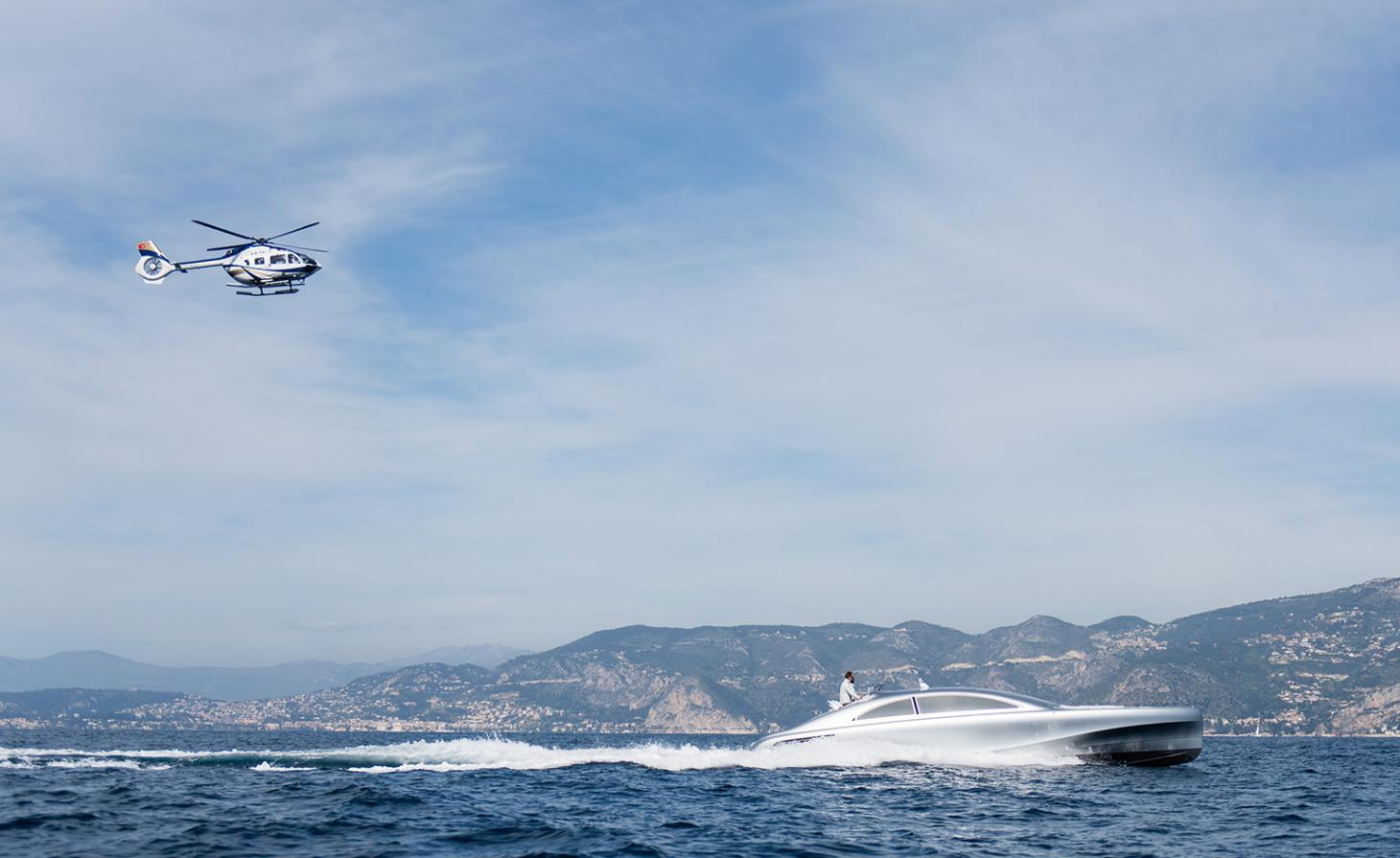 The holy trinity: Mercedes-Benz have conquered land, air and now sea
