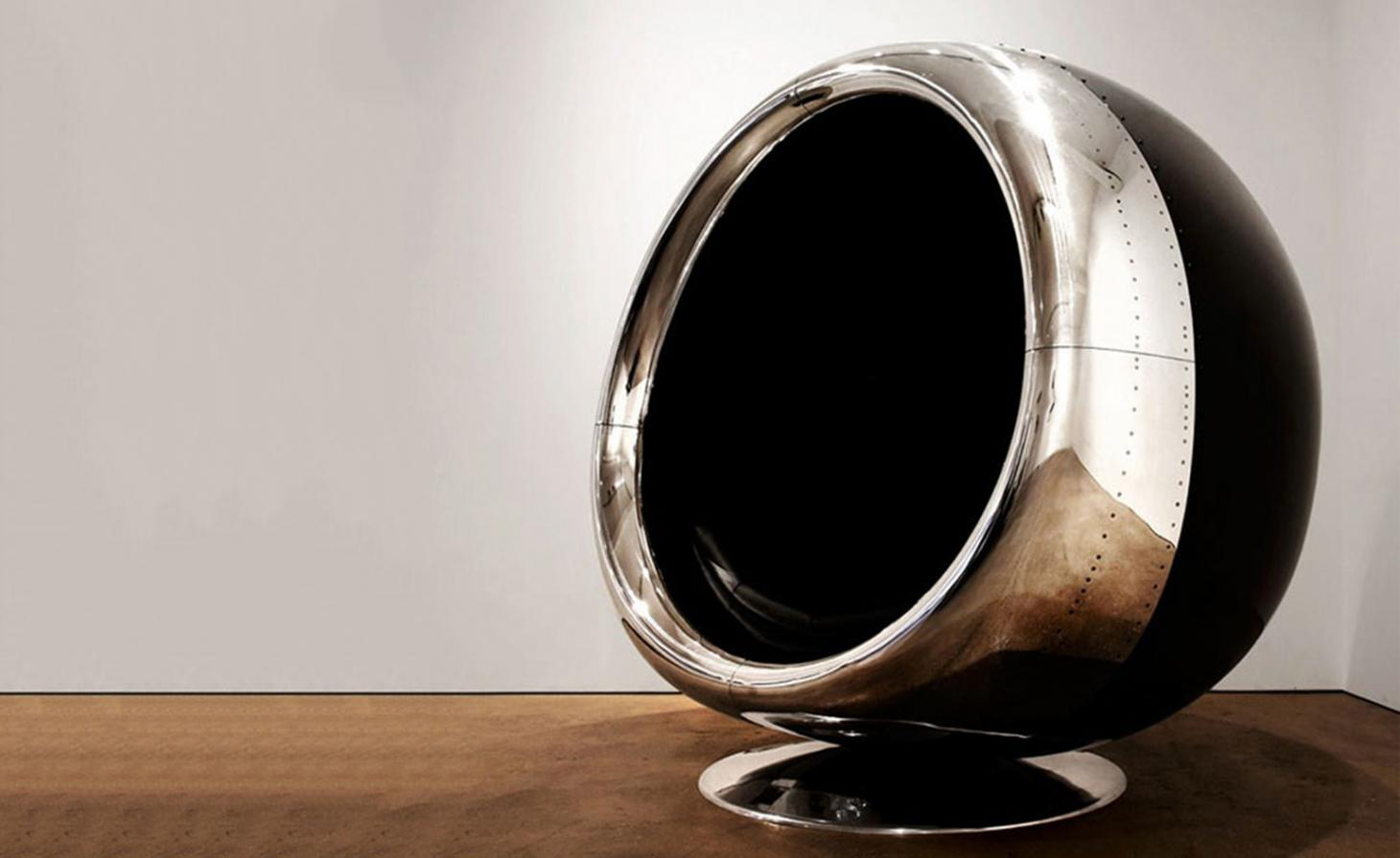 Flight of fancy: the Tucker Brothers release 737 Cowling Chair