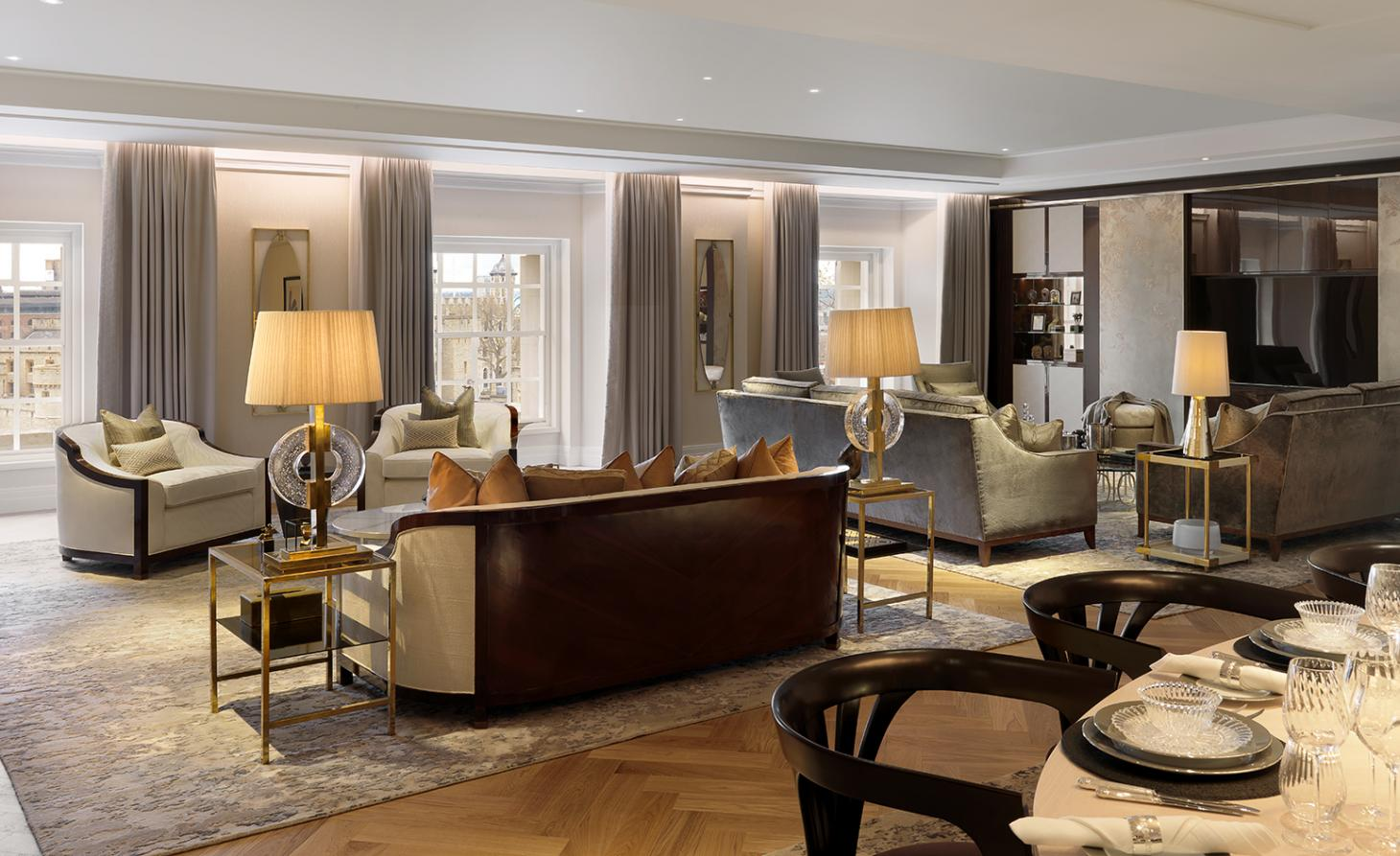 A piece of history: London's Ten Trinity Square residential interiors revealed