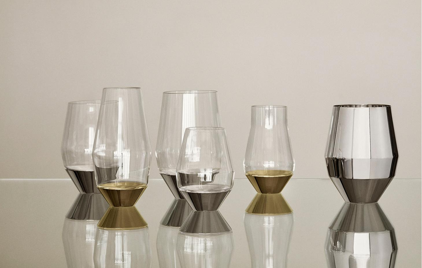 sommelier glassware by michael anasstassiades for Puiforcat