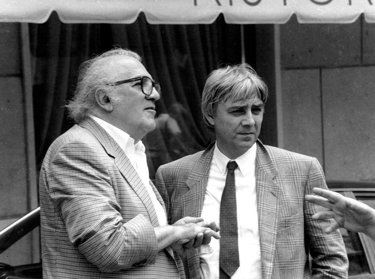 Milo Manara and Federico Fellini