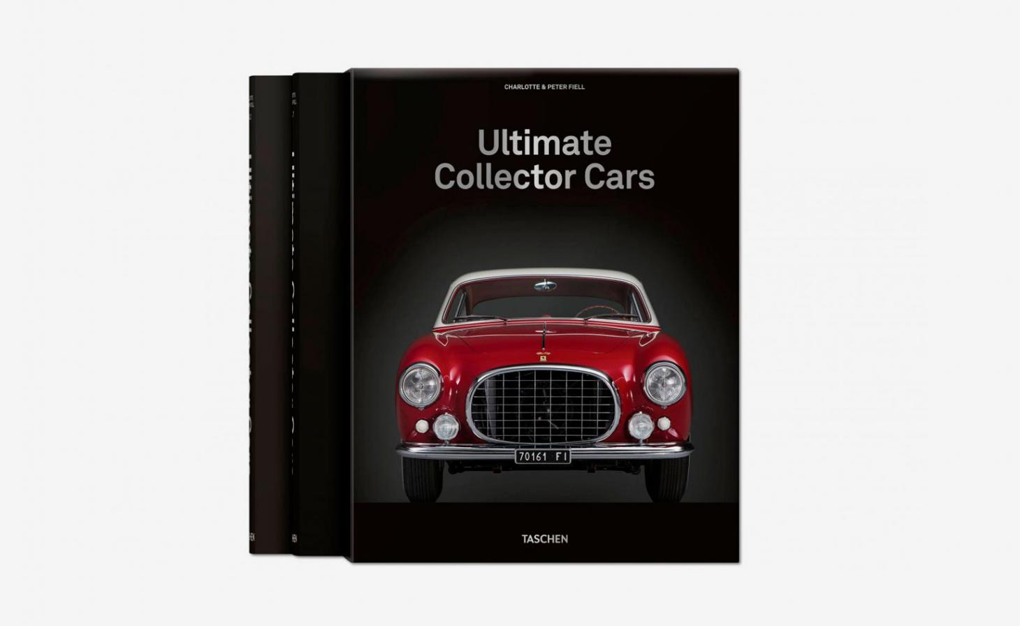 The book cover of Ultimate Collectors Cars, published by Taschen
