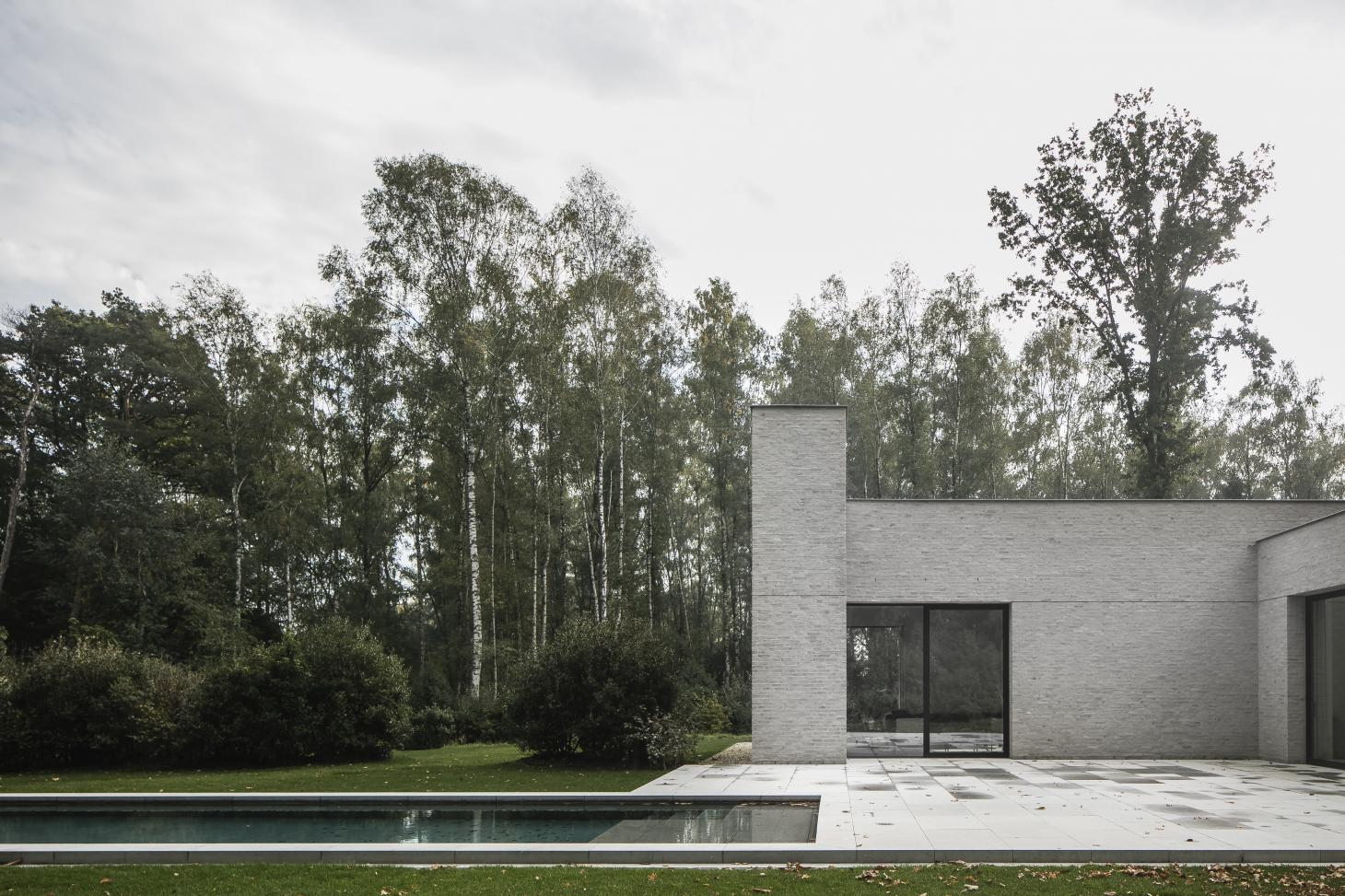 JJM house Nicholas Schuybroek swimming pool