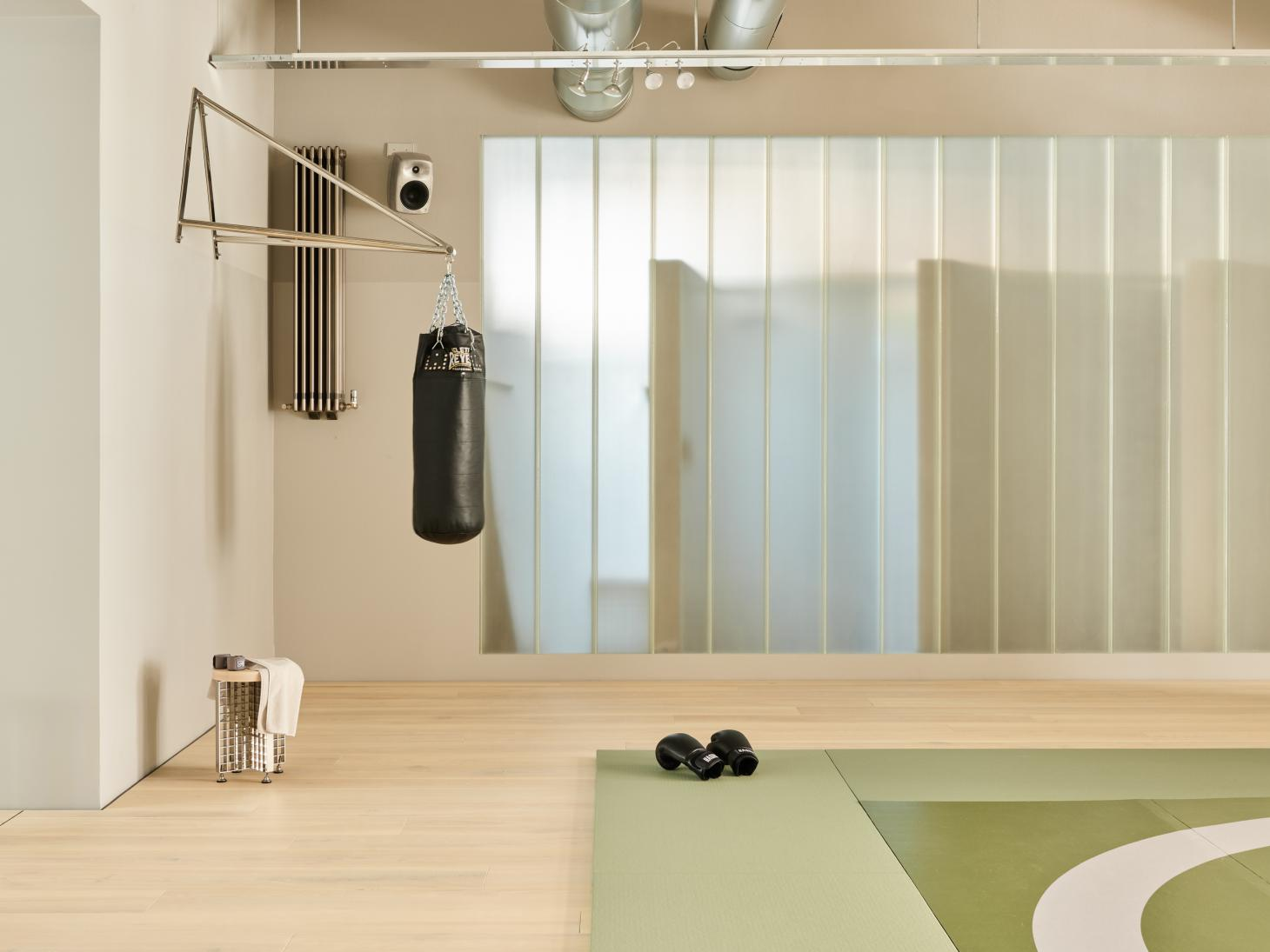 Workout area of Hagius gym in Berlin