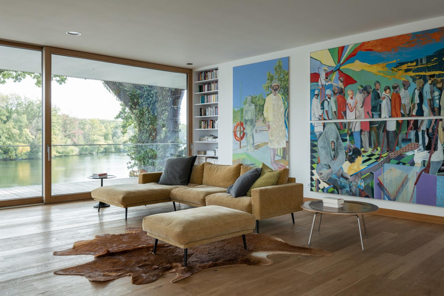 Carlos Zwick's family house has stunning lakeside views from all the principal reception rooms