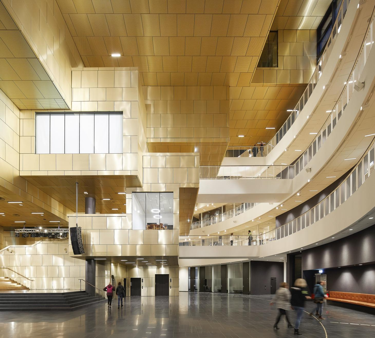 Henning Larsen Kiruna City Hall interior