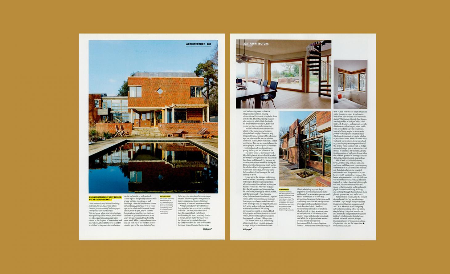 Spread from the May 2012 Issue of Wallpaper*