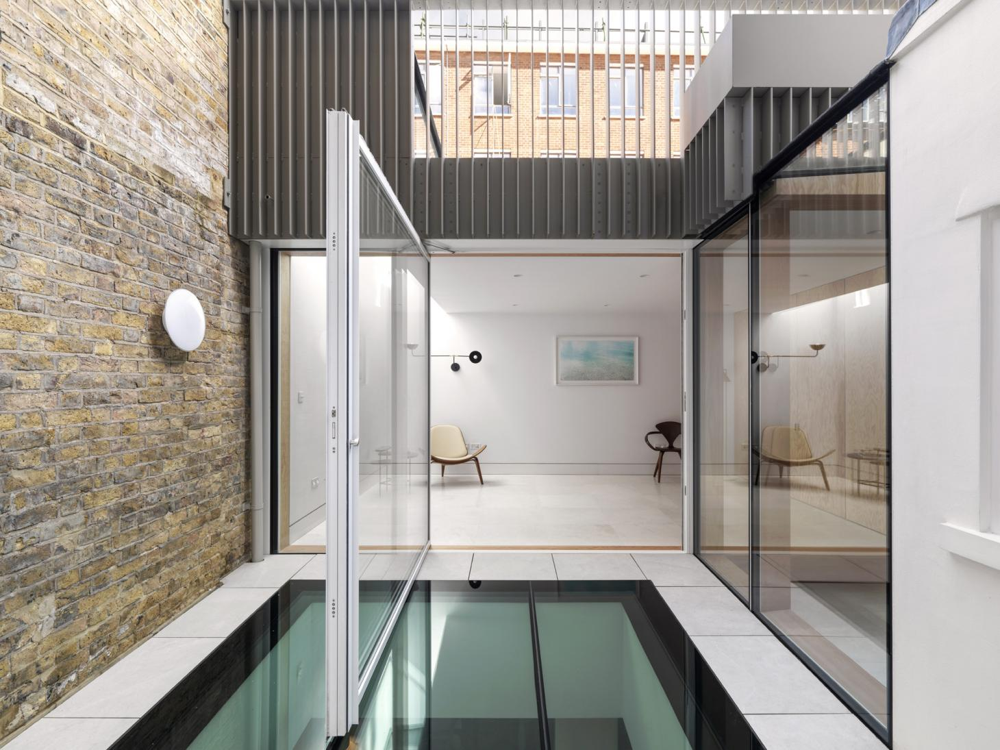 St John house by IF_DO, courtyard void