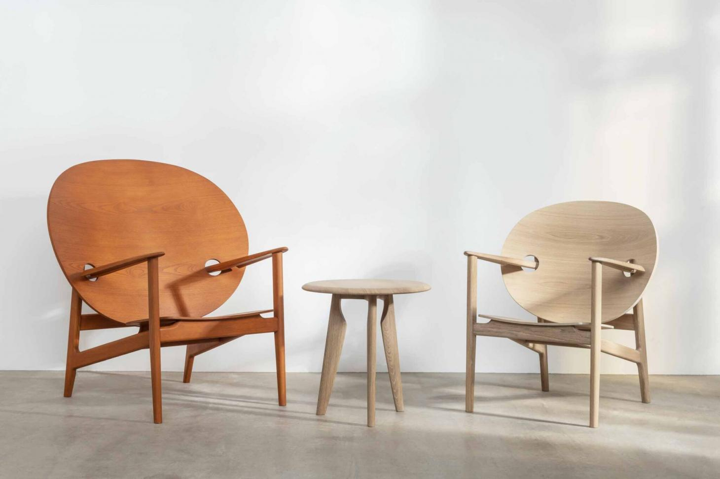 Ikva chair by Mac Collins