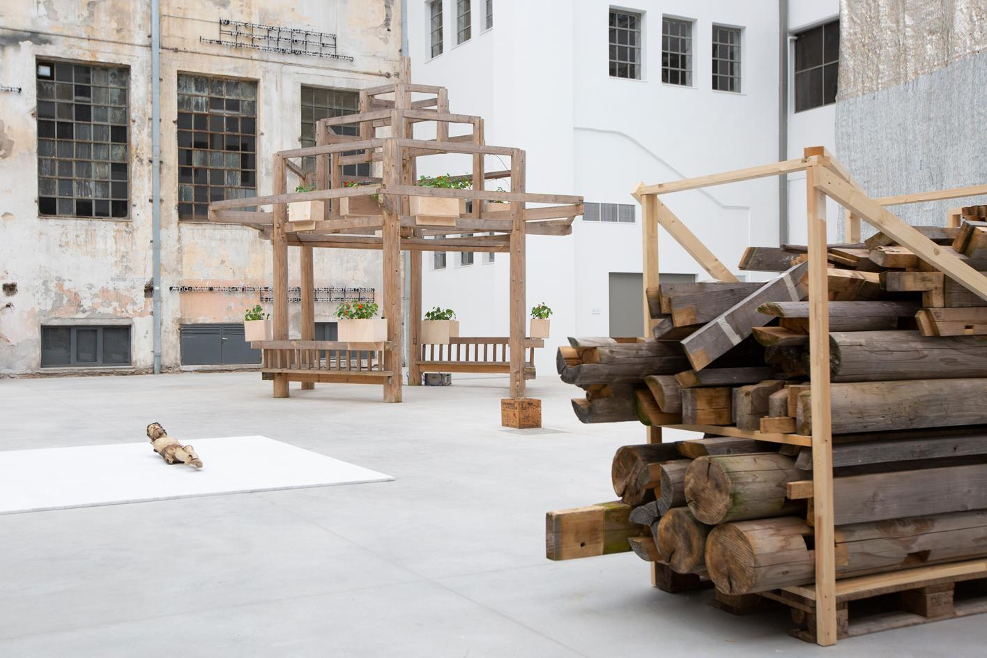 Danh Võ, Untitled, 2021 (detail), mixed media. Courtesy the artist. Commissioned by NEON, part of the fascinating history of Europe's art galleries