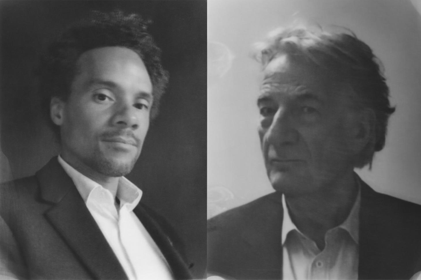Oliver Heilmer and Paul Smith, portraits by Baud Postma