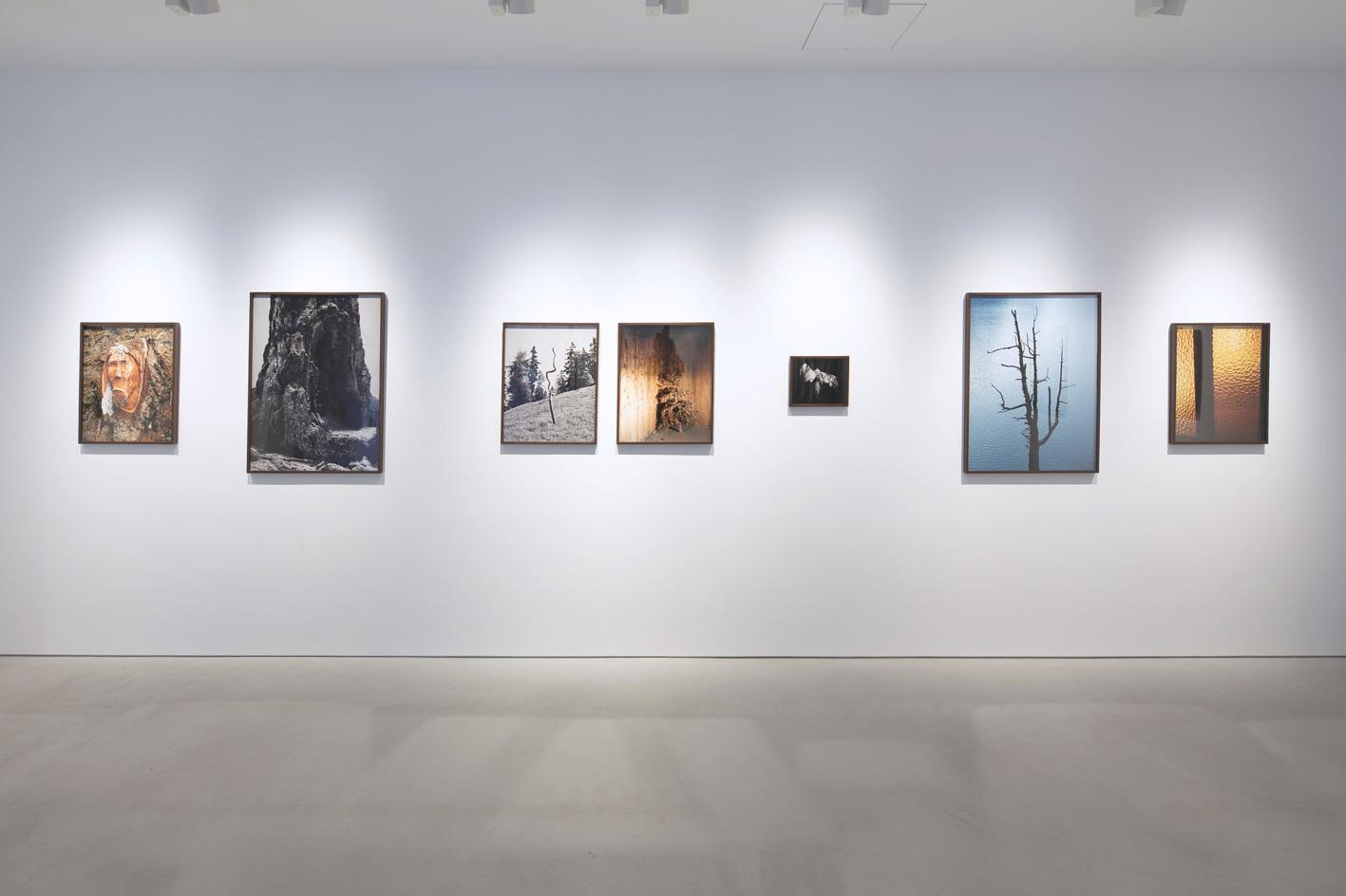 Installation view ofGreppon, in the exhibition 'Balancing Act', SAI Gallery, Tokyo,by Philippe Fragnière