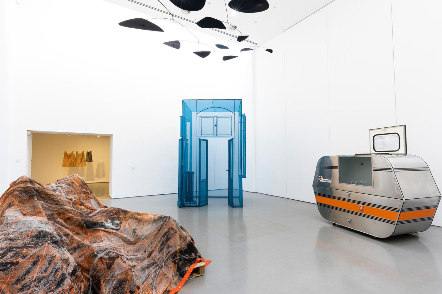 Installation view of Portable Sculpture, on display at the Henry Moore Institute in 2021. Photo Nick Singleton 4