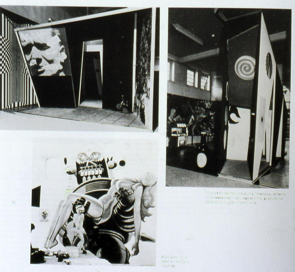 Installationviewof'This is Tomorrow',1956 at Whitechapel Gallery London