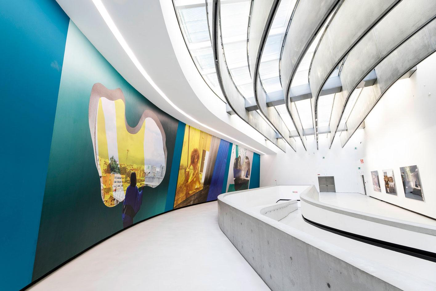 Installation views of A Marvellous Entanglement, MAXXI, Rome by Isaac Julien