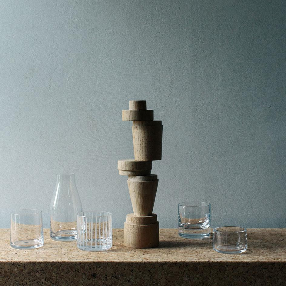 Nigel Peake and J. Hill's Standard new glassware collection
