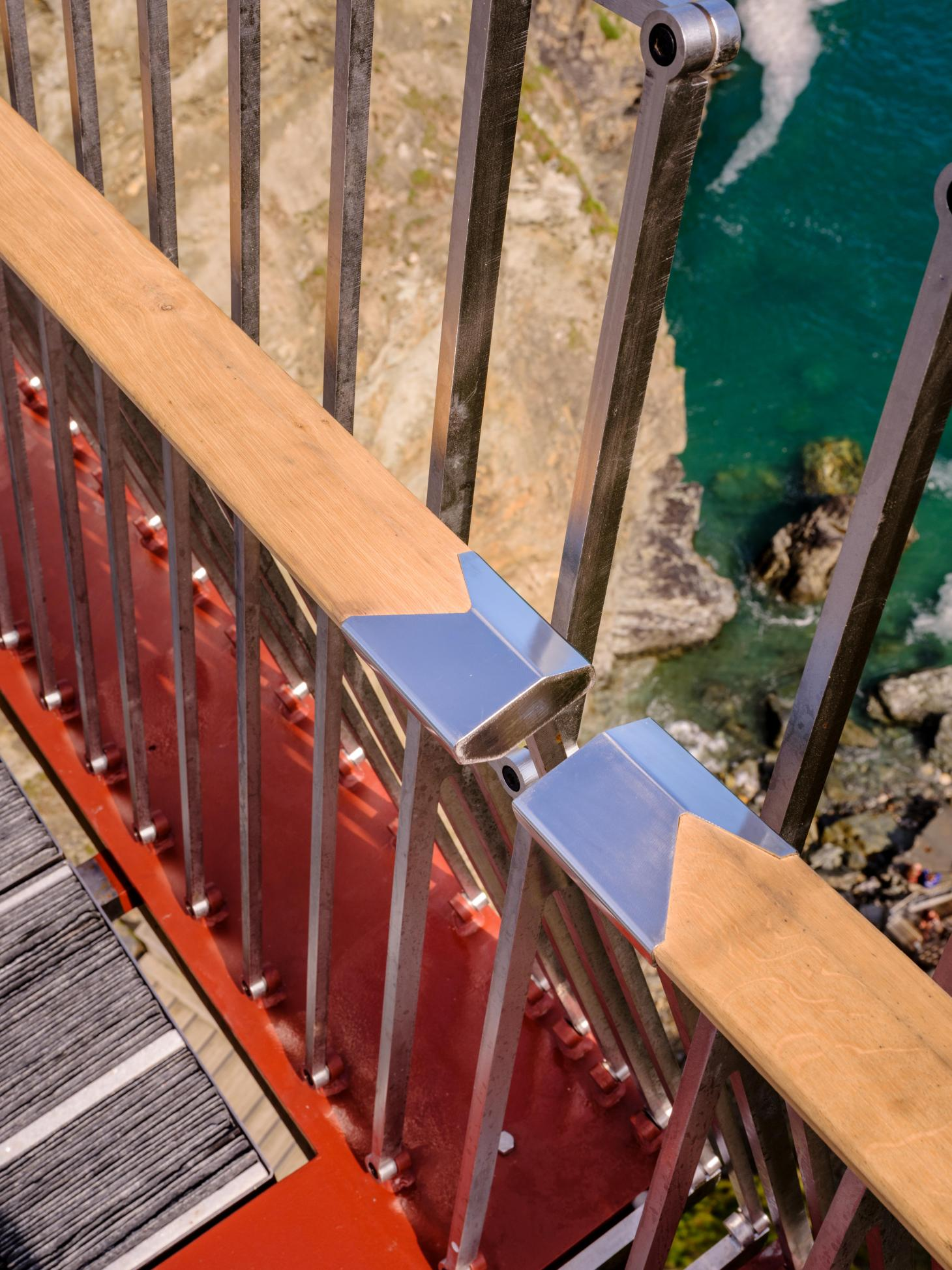 Tintagel bridge detail