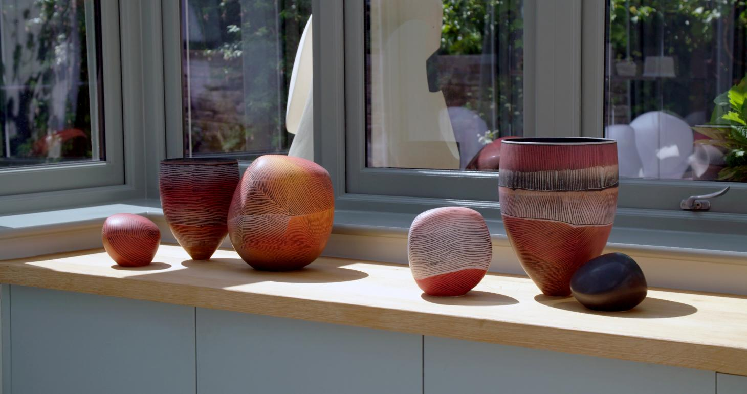 colorful ceramics by Pippin Drysdale