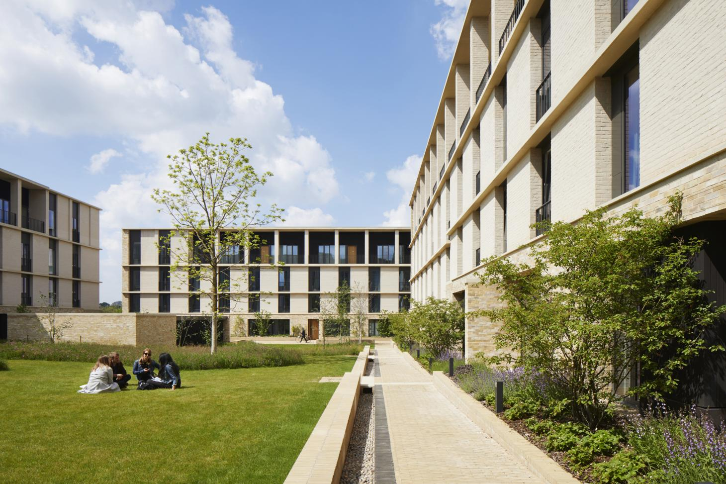 Key Worker Housing in Eddington, Cambridge has been nominated for a Stirling prize