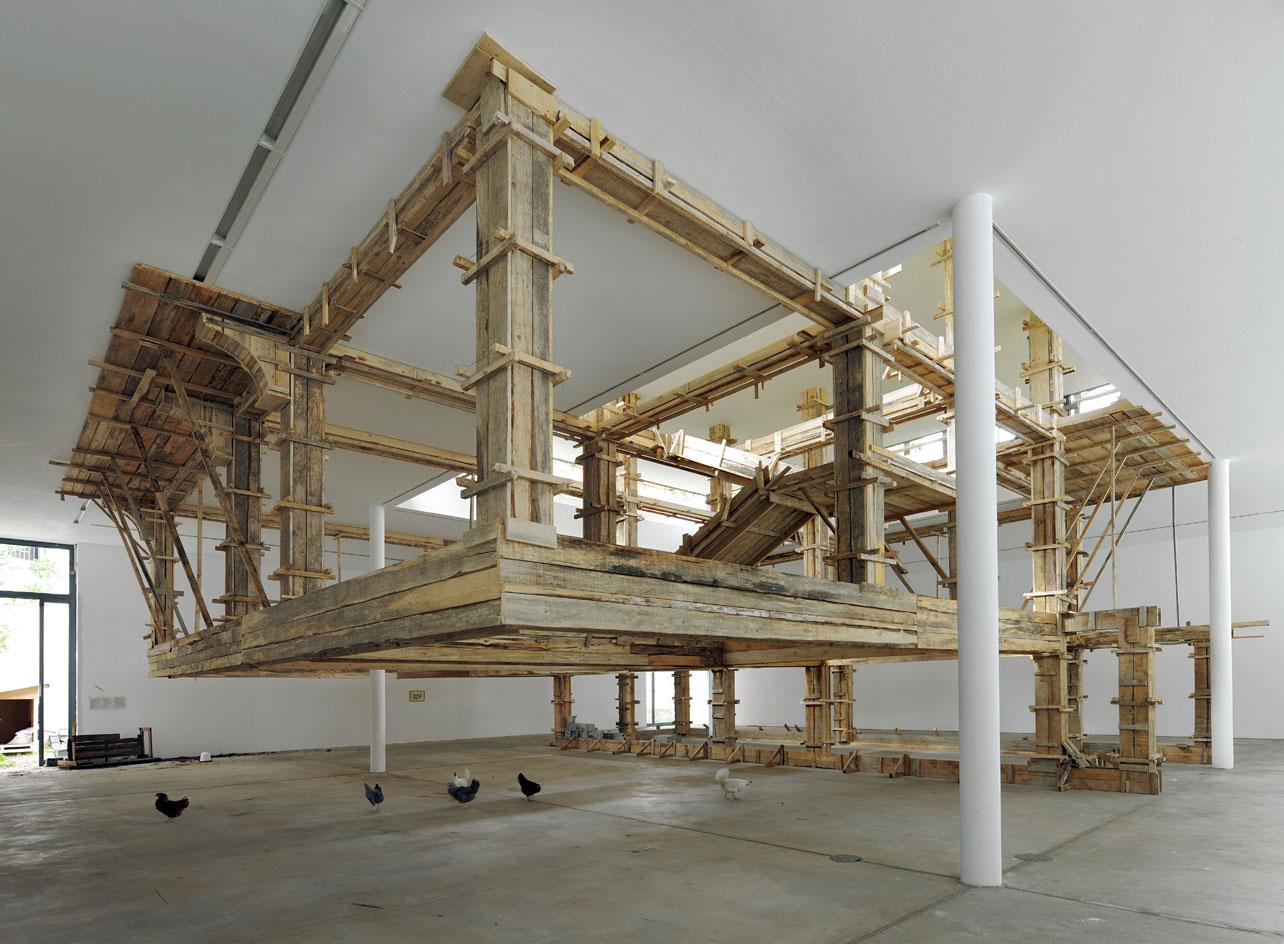 Petrit Halilaj, The places I'm looking for, my dear, are utopian places, they are boring and I don't know how to make them real at the KW Institute for Contemporary Art in Berlin. One of the most amazing gallery transformations in Europe