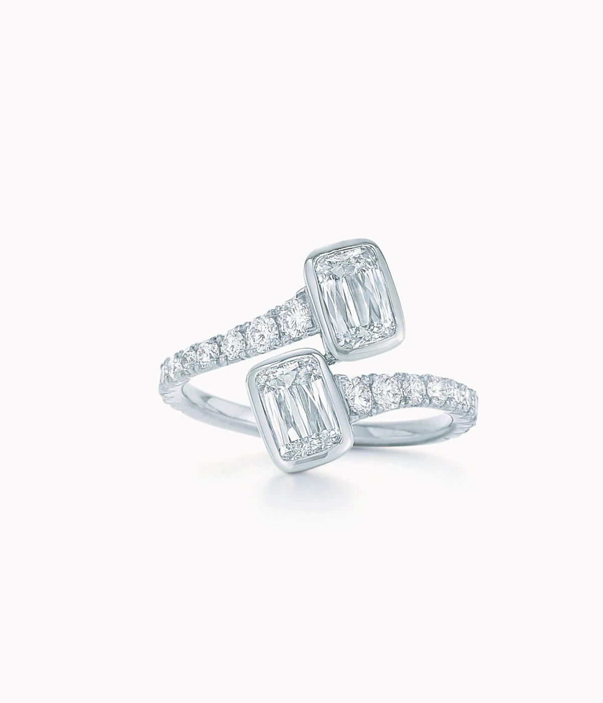 kwiat engagement rings play with fluid curves