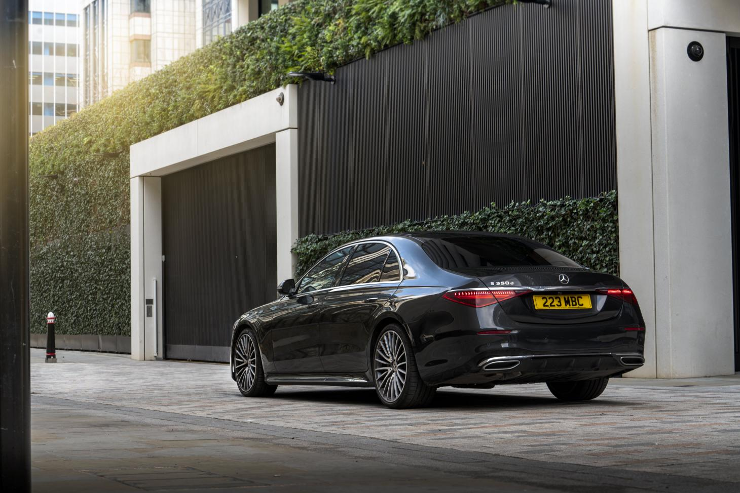 The new Mercedes S-Class