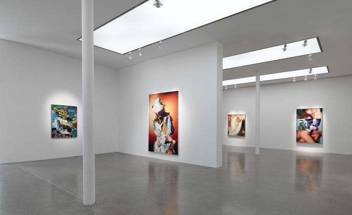 Richard Patterson exhibition at Timothy Taylor Gallery, London
