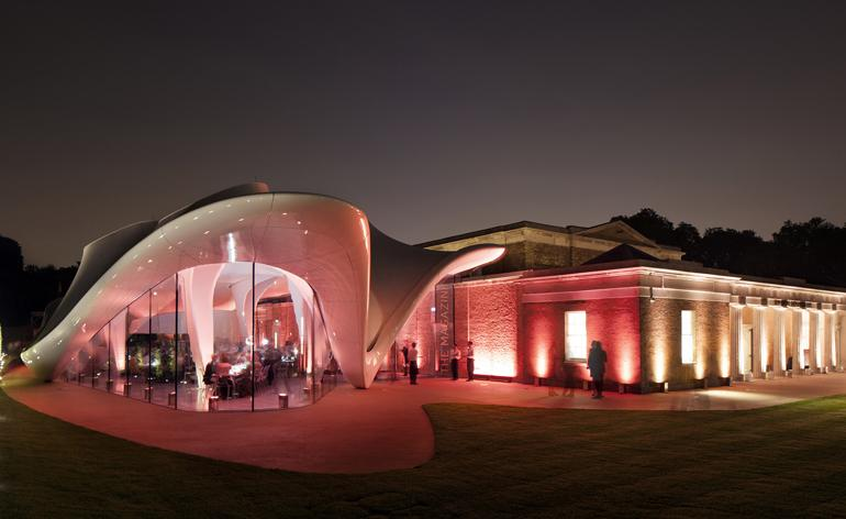 The Serpentine Sackler Gallery launches with a new extension by Zaha Hadid